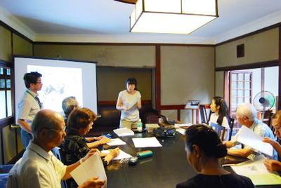 第2回奈良学園公開文化講座「『大和名所図会』における名所の成立」を開催しました