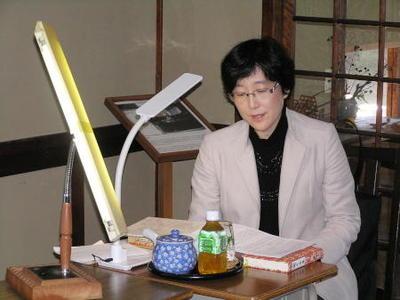 白樺サロン特別講座《夏目漱石『こゝろ』--「先生」の遺書が伝えるもの--》を開催
