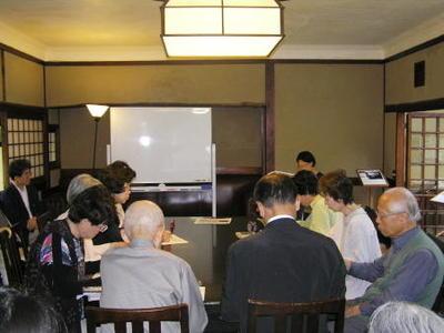 特別講座2017白樺サロンの会 第1回『なぜ志賀直哉は日本語を捨てようとしたのか?』を開催