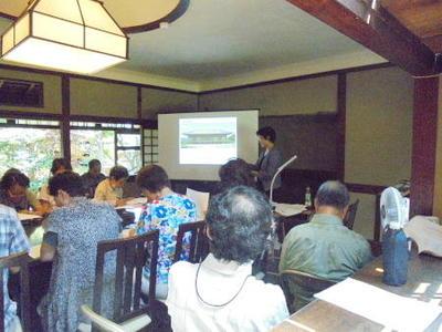 特別講座2017白樺サロンの会第4回《森鷗外と奈良―森鷗外『奈良五十首』をめぐって》を開催