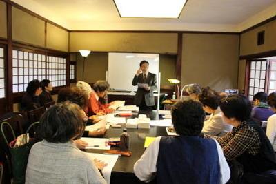 近代文学講座 《文学表現の諸相》後期第1回を開催