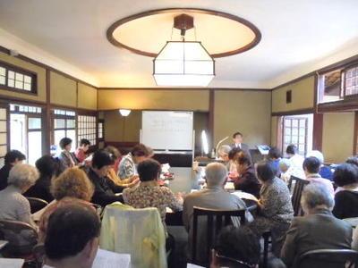 近代文学講座がスタートしました/近代文学講座前期第一回「文学表現の諸相」を開催