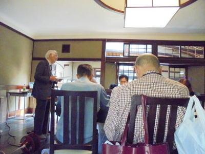 奈良学園公開文化講座第21回「歴史における日中関係~日本外交の岐路と選択」を開催