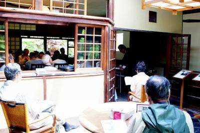 志賀直哉旧居特別講座 2018白樺サロンの会第1回《会津八一『南京新唱』の世界》を開催