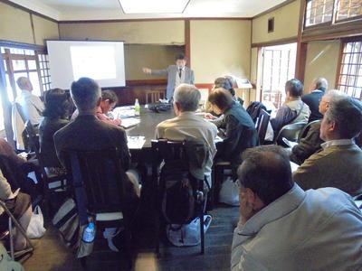 奈良学園公開文化講座第28回「奈良の志賀直哉」を開催