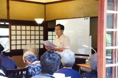 近代文学講座前期第4回を開催