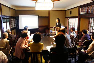 志賀直哉旧居特別講座 白樺サロンの会第6回《吉川観方―日本文化へのまなざし》を開催