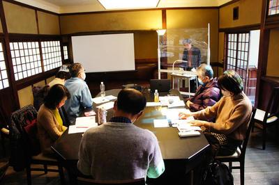 志賀直哉旧居特別講座 白樺サロンの会第4回「興福寺北円堂「無着像」--奈良の美と日本文化--」を開催しました。