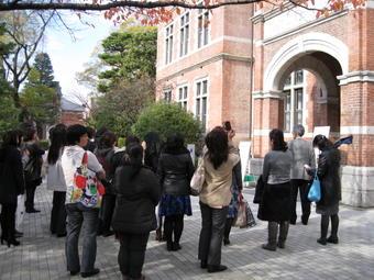【中高・登翔会】保護者による大学見学ツアーを実施しました。