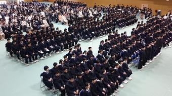 【中学校】【高校】平成27年度入学式を行いました