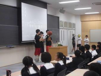 【中学校】クラブオリエンテーションを行いました