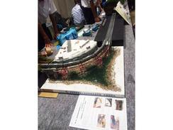 交通研究部「第8回全国高等学校鉄道模型コンテスト」に参加しました