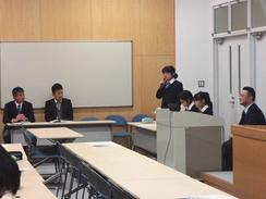 Y1(中3)学年が総合発表会を行いました