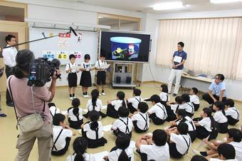 P3 「物語まるわかり教室」を行いました