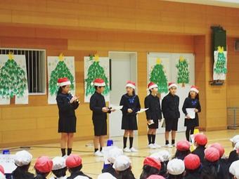 クリスマス集会をしました
