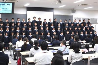 春の学校見学会・説明会を開催しました