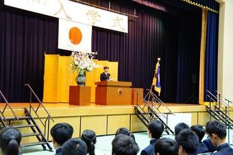 平成30年度奈良学園登美ヶ丘中学校高等学校入学式を挙行しました