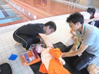 教職員が救急法を学びました