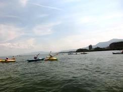 P3生が琵琶湖へ宿泊学習に行ってきました