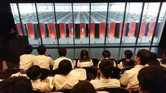 【科学部】スーパーコンピュータ『京』を見学しました
