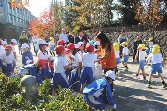 「奈良学園登美ヶ丘ふれあい清掃」を行いました
