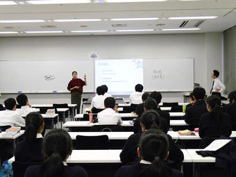 Y2学年(高1)冬期学習合宿を実施しました