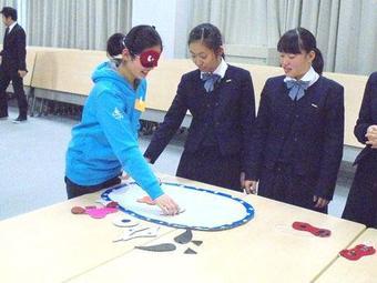 中国の生徒との交流を行いました