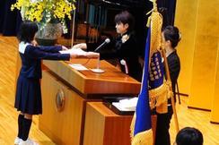 第六回「奈良学園小学校卒業証書授与式」を挙行しました