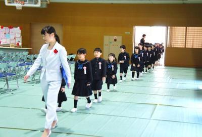2019年度奈良学園小学校入学式を行いました