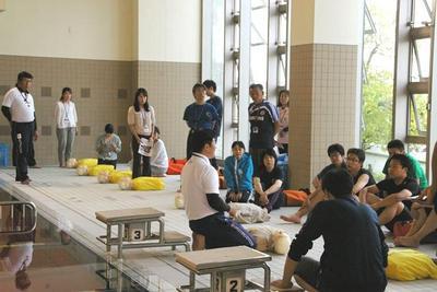 教職員対象の救急法講習会を実施しました