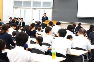 A日程入試説明会を開催しました