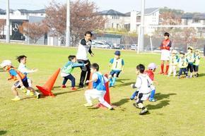 奈良登美キッズサッカーを開催しました