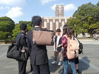 第1回大学探訪(京都大学)を行いました