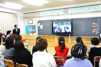 M1広島宿泊学習報告会を行いました