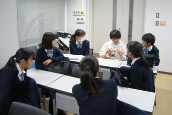 第1回大学探訪(大阪大学)を行いました