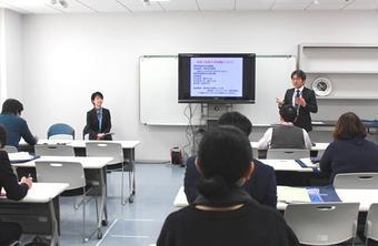 B日程入試説明会を開催しました