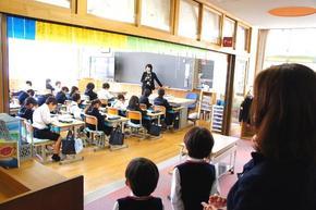 冬の授業見学会&給食試食会を行いました