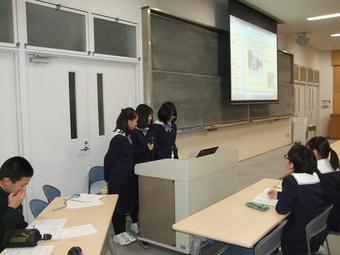 中1(M3)社会見学プレゼンテーション本選