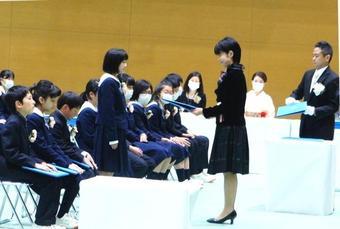 第7回奈良学園小学校卒業証書授与式を挙行しました