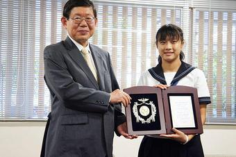 学校法人奈良学園栄誉賞を受賞しました
