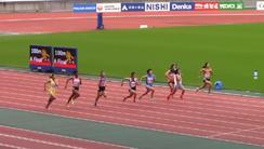 全国中学生陸上競技大会100m優勝!!(校長ブログより)