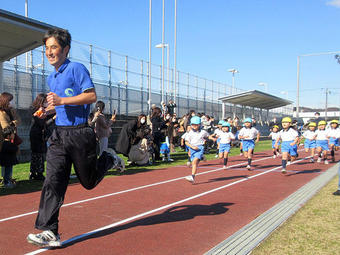 マラソン大会を行いました