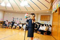 2歳児保育いちご組の入会式を行いました