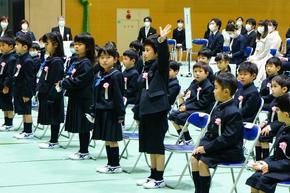 令和3年度奈良学園小学校入学式を行いました