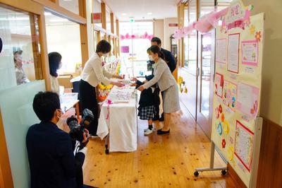 令和3年度奈良学園幼稚園入園式を行いました