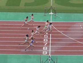 近畿インターハイ陸上競技女子100m優勝、全国インターハイへ!!(校長ブログより)