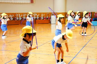 スポーツ教室を行いました