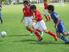 小学校サッカー部、奈良サマーカップ出場