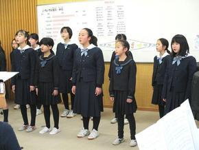 コーラス部コンサート・茶道部お茶会