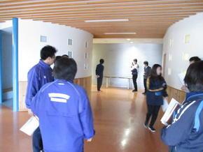 地震防火避難訓練の準備
